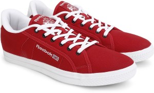 6b55c149e49622 Reebok REEBOK COURT Men Canvas Shoes Red White Best Price in India ...