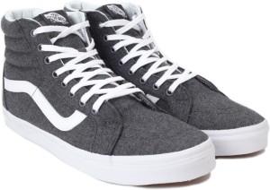 d4ca46714e VANS SK8 Hi Reissue Sneakers Grey Best Price in India