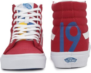 a1df3d77837c8 VANS SK8 HI REISSUE High Ankle Sneakers Red Best Price in India ...