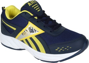9dcc0ae3987b7c Aero AMG Performance Running Shoes Blue Yellow Best Price in India ...