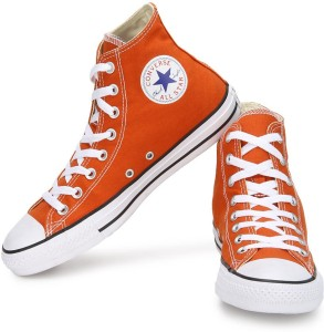 aead34ec69c Converse 150778CCTHI All Star Series High Ankle Canvas Shoes Orange ...