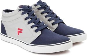 Fila ALFIO Mid Ankle Canvas Shoes Blue