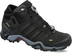 380d81ec2 Adidas TERREX FAST R MID GTX Outdoor Shoes Black Best Price in India ...