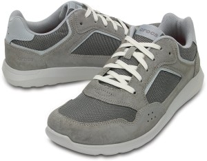 345dffaa9decc2 Crocs Kinsale Pacer Boat Shoes Grey Best Price in India