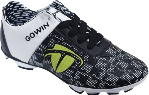 ad70d643c4d Gowin Champion Black White Football Shoes Black White Best Price in ...