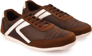 Andrew Scott Men's Coffee Synthetic Casuals For Men