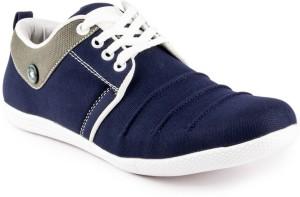 Big Wing Trendy Blue Sneakers