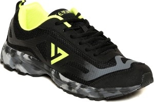 Seven Camo Black Pewter Lime Punch Running Shoes