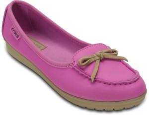 026d663163 Crocs Wrap ColorLite Ballet Loafers Pink Best Price in India   Crocs ...