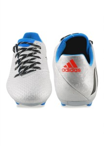 7c0ca9712ec Adidas MESSI 16 3 FG Football Shoes Silver Best Price in India ...