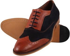 9a66c0860740 Aditi Wasan Corporate Casuals Brown Blue Best Price in India