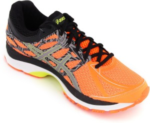 221763ac4 Asics Gel Cumulus 17 Lite Show Men Running Shoes Orange Yellow Black ...