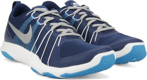 cb876dcee4b3 Nike FLEX TRAIN AVER Training Gym Shoes Blue Best Price in India ...
