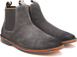 Superdry Dakar Chelsea Boot Boots Grey Best Price In India
