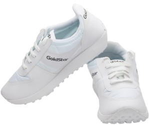 8e0155dd5d4 Goldstar White Running Shoes White Best Price in India