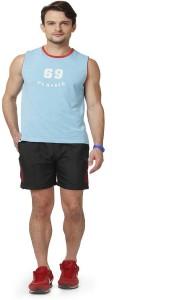 ABLOOM Solid Men's Multicolor Sports Shorts