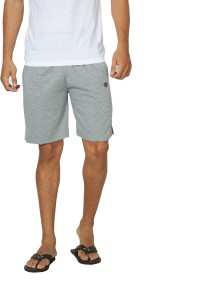 Alan Jones Solid Men's Grey Bermuda Shorts, Gym Shorts, Night Shorts, Beach Shorts, Running Shorts, Sports Shorts