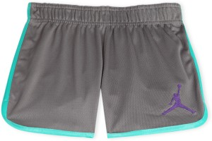 9c84565b7d48fb Jordan Kids Short For Girls ( Grey Pack of 1 )