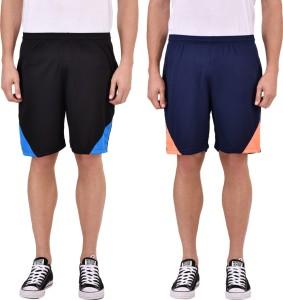 Gag Wear Self Design Men & Women Multicolor Sports Shorts