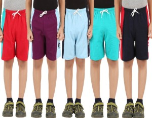 Meril Short For Boys Graphic Print Cotton Linen Blend, Cotton Nylon Blend, Cotton Linen Blend