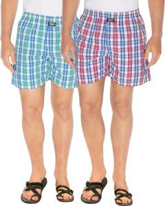 Seals Checkered Men's Multicolor Boxer Shorts