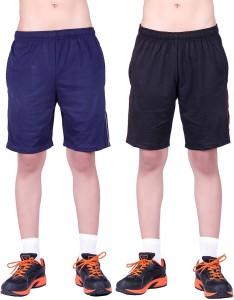 DFH Solid Men's Blue, Black, Red, Grey Basic Shorts, Beach Shorts, Gym Shorts, Night Shorts, Running Shorts, Sports Shorts