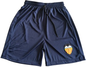 The Desi Attire Solid Men's Blue Sports Shorts