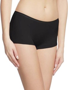 69GAL Solid Women's Black Compression Shorts