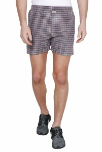 TeeMoods Checkered Men's Multicolor Boxer Shorts
