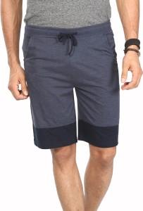 Vestonice Solid Men's Blue Night Shorts