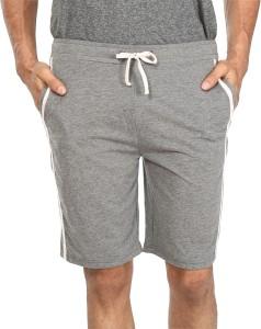 Vestonice Solid Men's Grey Night Shorts