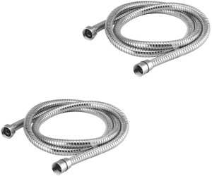 Kamal S.S Flexible Tube Delux - 1 Meter (Set of 2) Shower Head