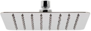 AAI Stainless Steel Ultra Thin Square Shower 6X6 Inch Shower Head