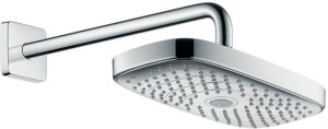 Hansgrohe Raindance Select E 300 2Jet Overhead With 390 Mm DN 15 Color Gery Shower Head