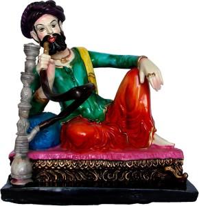 Le Exotica Cultural Rajasthani Decoration Item Villager Hookah Man A