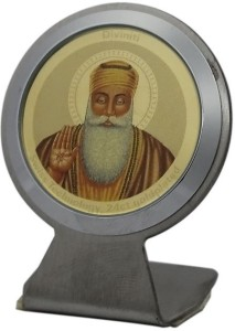 Sitare Guru Nanak Diviniti Photo Frame 24ct Gold Plated Showpiece 5