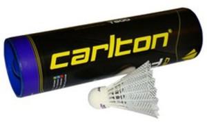 Carlton T-800 Nylon Shuttle  - White