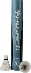 Thwack Feather Shuttles - Orbit - 77 Feather Shuttle  - White, Black
