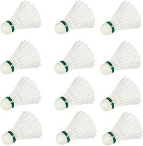 Sporton Sportson Kids Badminton Plastic Shuttle  - White