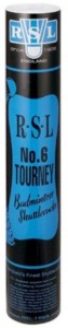 RSL Tourney N-6 Feather Shuttle  - White