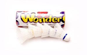 MegaPlay Wonder Plastic Shuttle  - White