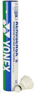 Yonex Aerosensa 2 Feather Shuttle  - White