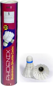 Prokyde PHOENIX 444 Feather Shuttle  - White