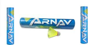 Arnav A1 Plastic Shuttle  - Yellow