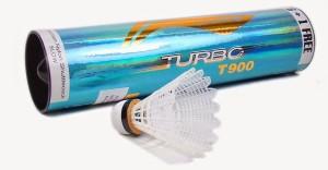Li-Ning Turbo T900 Nylon Shuttle  - White