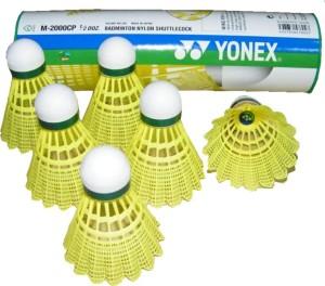 Yonex Mavis 2000 Nylon Plastic Shuttle  - Multicolor