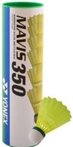 Yonex MAVIS 350 - Green Cap Nylon Shuttle  - Multicolor