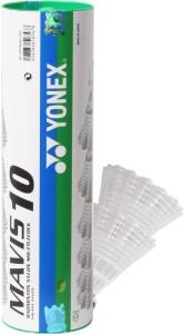 Yonex Mavis 10 Nylon Shuttle  - White, Green