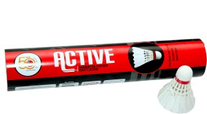 MegaPlay Active Feather Shuttle  - White