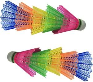 Arnav A1 Plastic Shuttle  - Multicolor